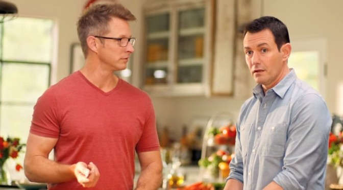 "Sabra Hummus ""Spread The Word"" Gay Couple Ad"