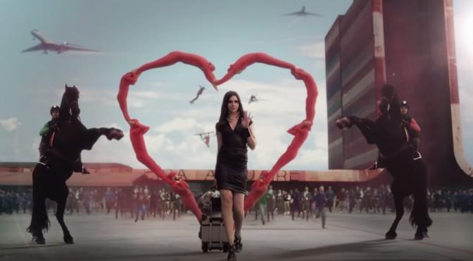 XXL Olympics 'Airport Love' Lesbian Ad