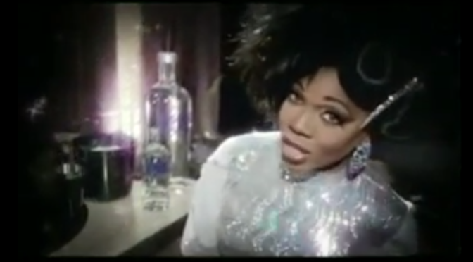 Absolut Vodka Drag Queen Ad