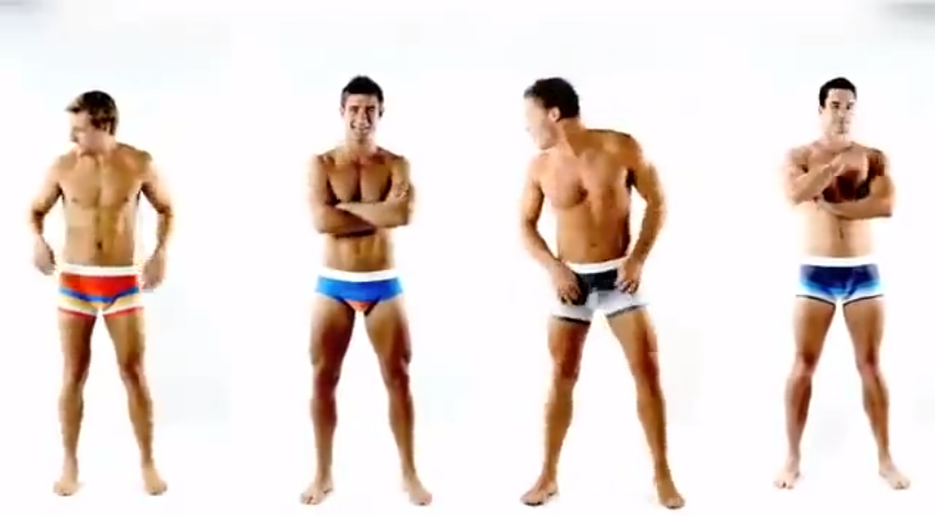 aussieBum Men Underwear Gay Ad