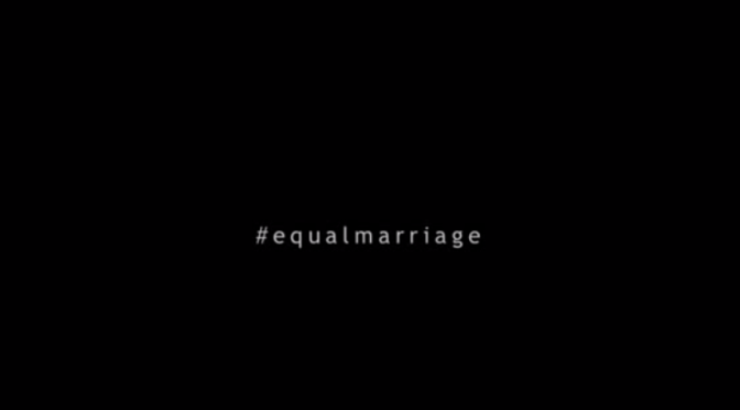 Coalition For Equal Marriage Gay Ad