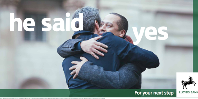 For Your Next Step – Lloyds Bank Advert With Gay Proposal